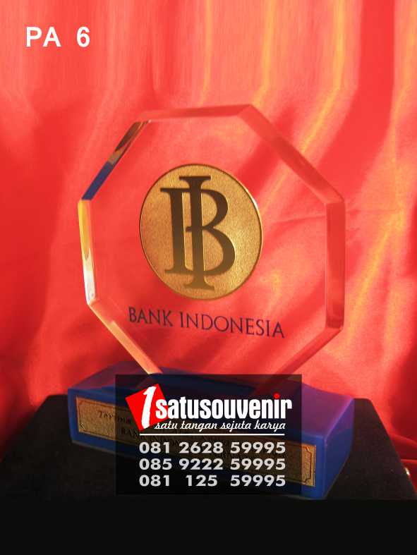 Plakat Akrilik Bank Indonesia PA06