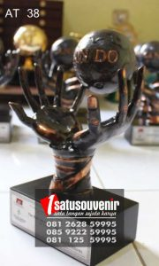 Plakat Award Trophy Resin | Plakat Can Do